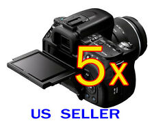 5x Clear LCD Screen Protector Guard Cover For Sony Alpha DSLR-A560 A580 Camera