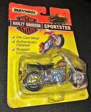 1993 Harley Davidson Gold Sportster Die-Cast motorcycle 1:20 #76246 in box