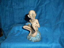 GOLLUM Porcelain Statuette LORD of the RINGS Hobbit FRENCH Large FEVES Figure