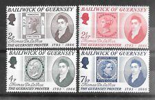 Guernsey 1971 Thomas de la Rue Sg59-62  MNH/UMM