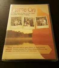 Flame On (DVD) American Family Media Kendra White Christian movie film NEW