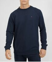 Tommy Hilfiger Men's Sweater Track top Long Sleeve In Navy