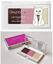 New Karl Lagerfeld Shu Uemura Eye-need-shu Eyeshadow Refillable Palette Case NIB