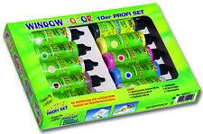 """Folia Window Color 10er Profi Set, """"funny color ANTIK"""" mit 20 Vorlagen - 45011"""