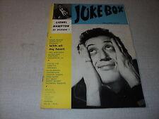 JUKE BOX 016 (2/58) PHIIPPE CLAY LIONEL HAMPTON MARINO MARINI DALIDA LINE RENAUD