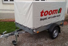 Nagelneuer STEMA 750 kg Anhänger mit 80cm Hochplane - 100 km/h Zulassung möglich