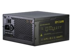 750Watt Inter-Tech Nitrox FP750W ATX Gaming Netzteil SEHR LEISE 135mm Lüfter
