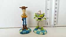Toy Story Woody Buzz Lightyear 2 PCS Figure Cake Topper Kids Gift Toys US