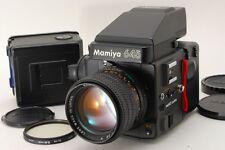 [Rare! NEAR MINT++]Mamiya M645 Super / Mamiya-Sekor C 110mm f/2.8 N/2 Film Back