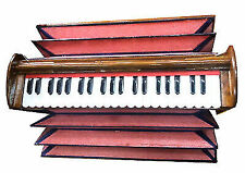 Original 2018 BINA Concert Quality 13 Scale Changer Indian Teakwood Harmonium