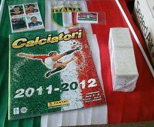 Album Calciatori 2011 2012 set completo aggiornamento e film campionato panini