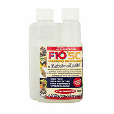 F10 SC 200ml Veterinary Disinfectant Birds Bird Cages Cage Cleaner Reptile Safe