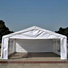 Quictent 6x8M Heavy Duty Marquee Party Tent Garden Gazebo Canopy with Ground Bar