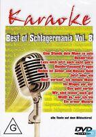 KARAOKE + DVD + Best of Deutsch Schlager (8) + Texte auf Bildschirm + Partyspaß