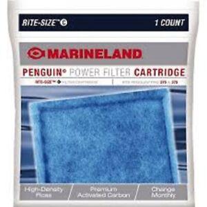 Marineland Rite-Size C Penguin Power Filter Cartridges 3 Count Pro 275 & 375