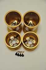 590 Autosports Low Volume LV Magnesium Kart Wheels Gold,OTK, Energy Ricciardo