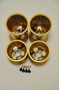 590 Autosports Low Volume LV Magnesium Kart Wheels Gold,OTK, Energy Ricciardo