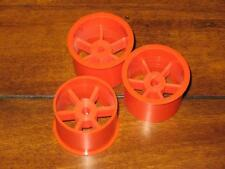 GARBO VINTAGE 1/8 RC BUGGY CAR ITALY MUSTANG 4WD 3 pcs WHEELS OLD STOCK RARE RC
