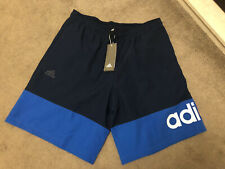 Adidas Navy And Blue Shorts Bnwt Size L