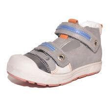 Babybotte chicos Seattle Gris Cuero Zapatos Con Ventilación UK 5.5 EU 22 nos 6