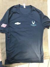 Unisex Black Crewneck Medium T-shirt #88 Harding Racing Chevrolet M Polyester