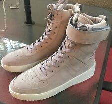 FEAR OF GOD SIZE 9 MILITARY Supreme BOOTS GRAY RARE RIRI ZIPPERS