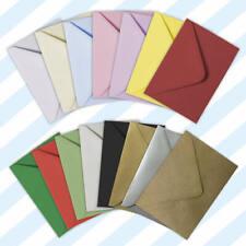 More details for c6 (a6) 114 x 162mm 15 colours-100gsm gummed greeting envelopes white/coloured