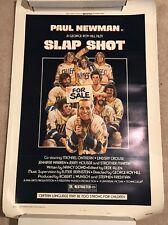 Slap Shot hockey original movie poster 1977 Paul Newman ...rolled.