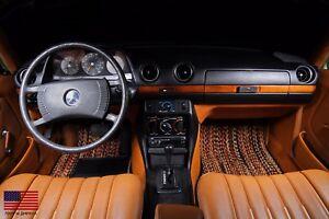 Mercedes-Benz 123 Sedans 1977-1985 Custom Car Floor Mats CocoMats 4 Piece Set