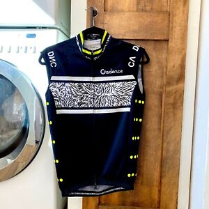 Unisex Small Black Cadence Cycling Vest Thermal Shell Men Women