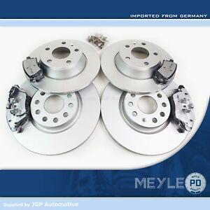 Audi TT MK2 8J - Meyle PD Front & Rear Complete Brake Discs & Pads Set