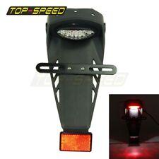 Motorcycle Rear Fender LED Brake Tail Light Fit Dirt Bike Honda Suzuki Motocross