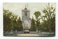 Shipbourne Church, Kent - old postcard by A N Hambrook