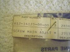Yamaha OEM NOS carburetor adjusting screw 812-14125-00 SL292 SW396 SW433E  #1611