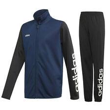adidas Trainingsanzug Tasto Jogginganzug Sportanzug Zweiteiler blau-schwarz