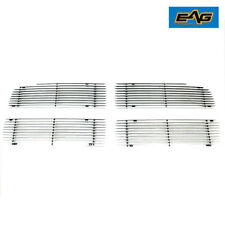 EAG Aluminum Billet Cutout Grille Fits 2002-2005 Dodge Ram 1500/2500/3500