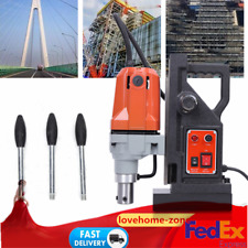 MD40 1100W Magnetic Drill Press 40mm Boring 12000N Mag Force Industrial Tapping