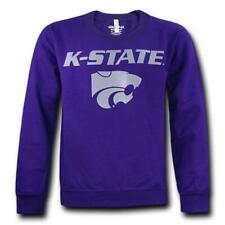 Universidad Estatal de Kansas Wildcats College Cuello Redondo Sudadera Pullover Suéter