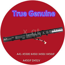 44Wh New Genuine A41-X550E battery For ASUS A41-X550E K550DP D451V A450JF K550D