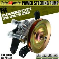 Power Steering Pump with Pulley for Nissan Navara D21 D22 2.5L Dissel Ute