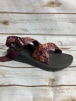 Chaco Women's Mega Z Cloud Sandals Blossom Wine Size 6 NIB