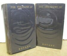 The Treasury of Botany - Popular Dictionay of the Vegetable Kingdom 1884 Two Vol