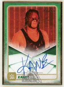 Kane 2020 Topps Transcendent WWE Autographed Card /15