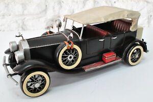 EUROPEAN FINERY  Metal Product Design Model 1920 WHITE ROLLS ROYCE 1:12 CAR Sale