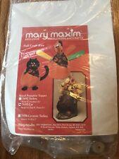 Mary Maxin Fall Craft Kit Cat Pumpkin Topper