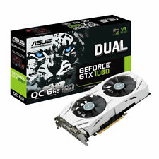 Graphics Card Asus GeForce GTX 1060 Dual OC Edition 6GB GDDR5 nVIDIA GTX1060