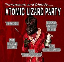 THE TERRORSAURS Atomic Lizard Party CD Wild Records 2015 NEW SEALED surf rock