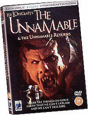 The Unnamable / The Unnamable Returns (DVD, 2004)