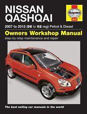 Haynes Nissan Qashqai Petrol & Diesel 2007 - 2012 Manual 5610 NEW
