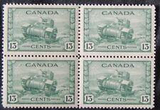 CANADA - 258 XFNH Block - F4 - 1942 WWII - Ram Tank - NCC